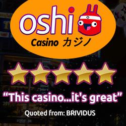 oshi new coin casino deposit bonus
