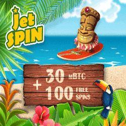 jetspin bitcoin casino bonus