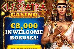 cleopatra bitcoin casino bonus