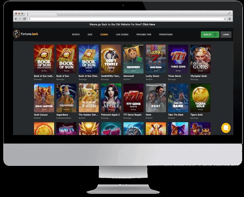 fortunejack bitcoin casino free spins bonus