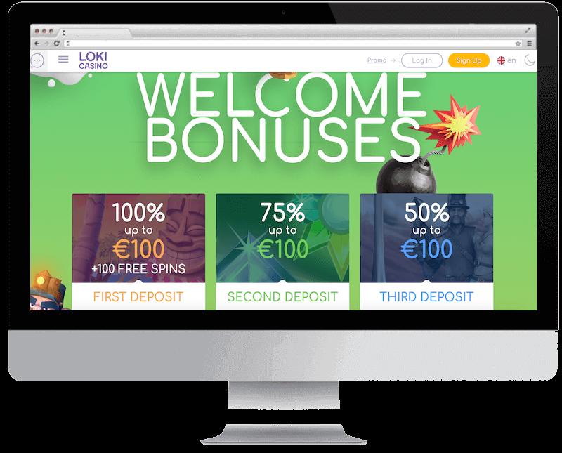 loki bitcoin casino no deposit bonus