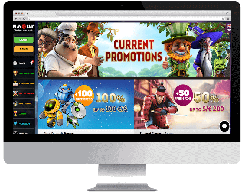 playamo bitcoin casino no deposit bonus