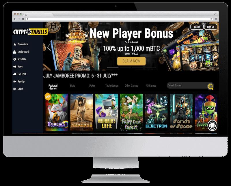 cryptothrills bitcoin casino free spins bonus