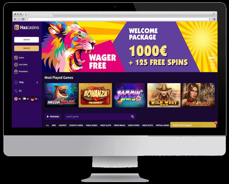 haz bitcoin casino free spins bonus