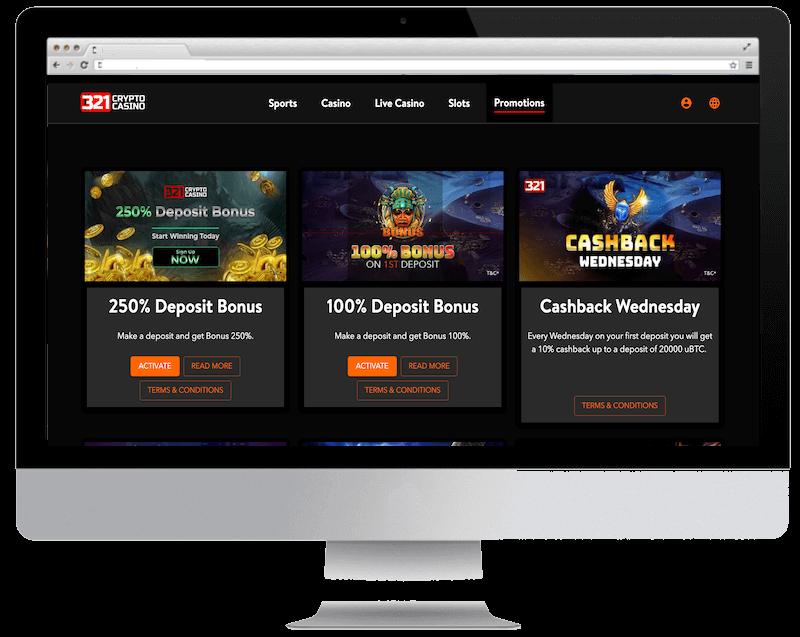 321crypto bitcoin casino no deposit bonus spins