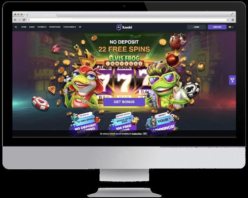 ilucki bitcoin casino free spins bonus