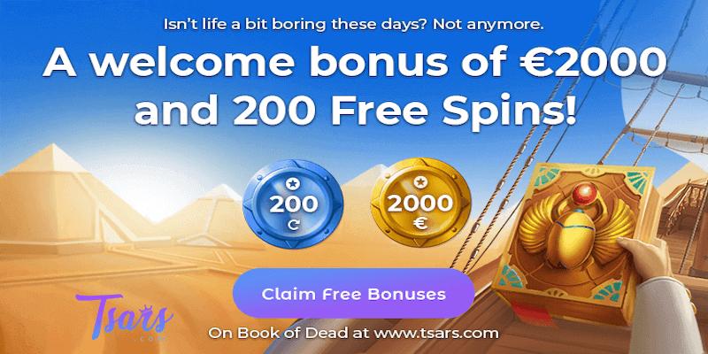 tsars bitcoin casino free spins no deposit bonus