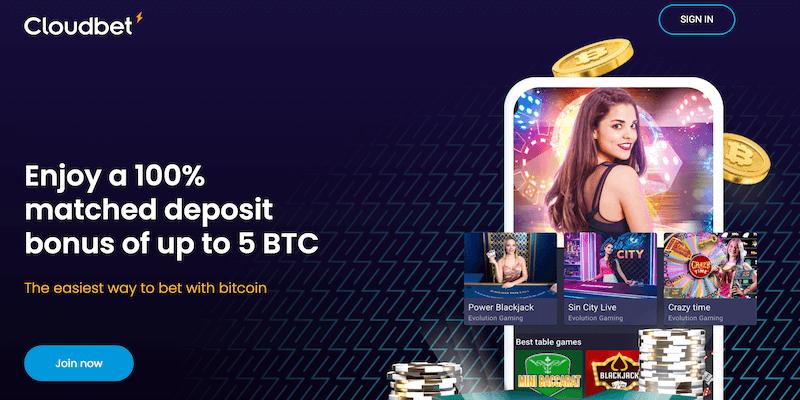 cloudbet bitcoin casino free spins no deposit bonus