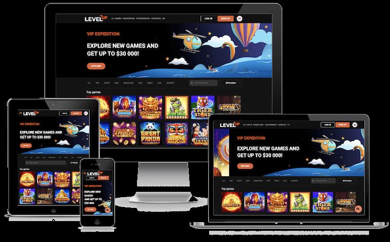 levelup bitcoin casino free spins no deposit bonus 2021