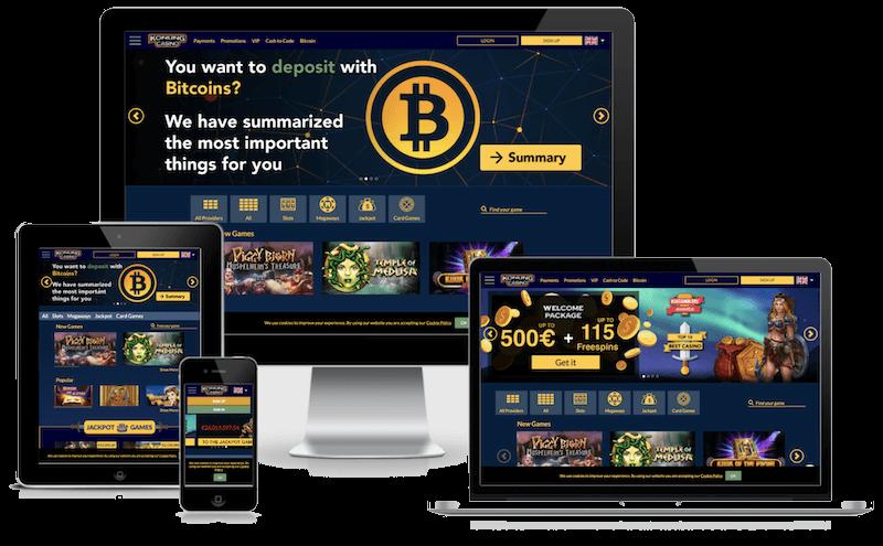 konung bitcoin casino free spins no deposit bonus 2021