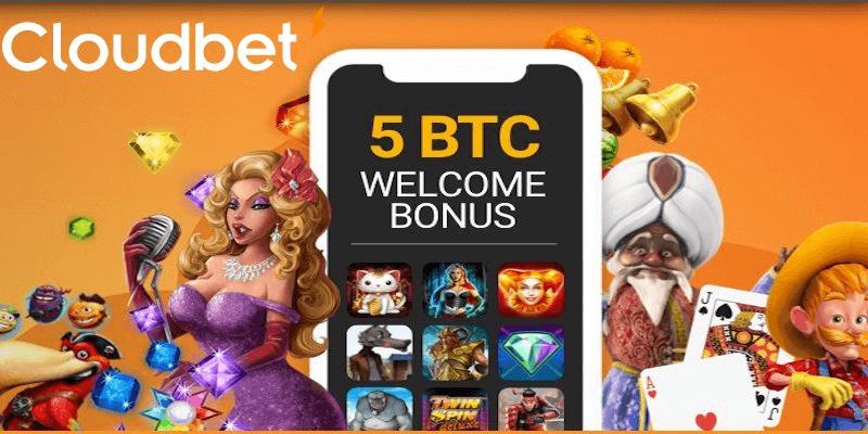 Cloudbet Casino best crypto casino with free spins bonus