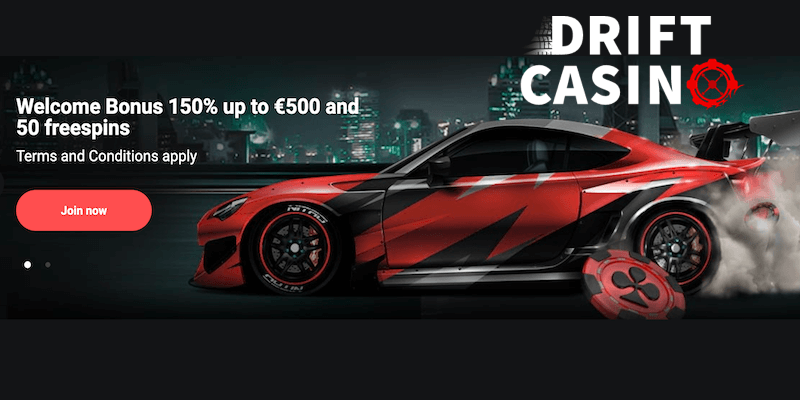 drift bitcoin casino free spins no deposit bonus